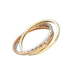 Pierścionek złoty 333 r12 EA11429