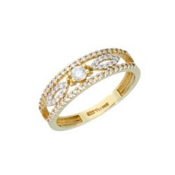 Pierścionek złoty 333 R15 EB12621