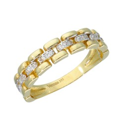 Pierścionek złoty 333 r16 EB15123