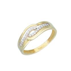 Pierścionek złoty 333 r15 EB15314