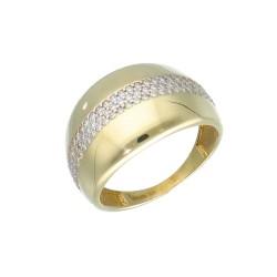 Pierścionek złoty 333 r.17 EB16446