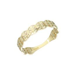 Pierścionek złoty 333 r16 EA18047