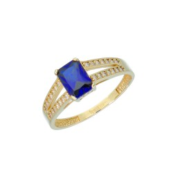 Pierścionek złoto 333 r14 EY16895