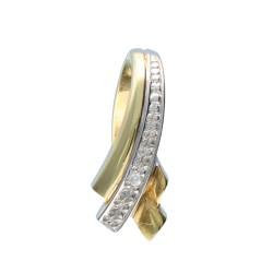 Zawieszka złota 585 diament Y03-4997