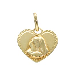 Medalik złoty 333 LA10003
