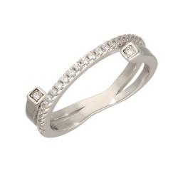 Pierścionek srebrny r10 B00-PW48671