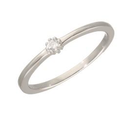 Pierścionek srebrny r13 B00-PW46087
