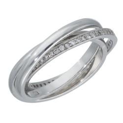 Pierścionek srebrny r19 CEN-IPCW247