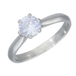 Pierścionek srebrny r 18 B00-PW46568