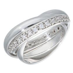 Pierścionek srebrny r14 000-SPC3290