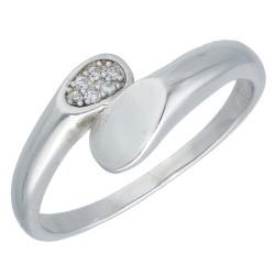 Pierścionek srebrny r17 B00-PW46306